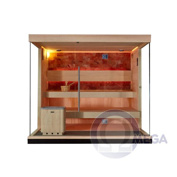 Omega SH529 - Bio zeliščna solna savna
