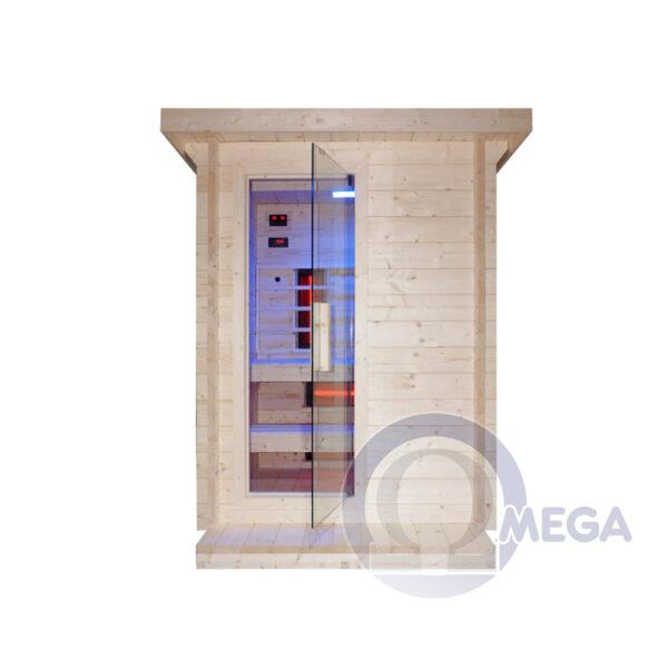 Omega SH530 - Zunanja kombinirana savna